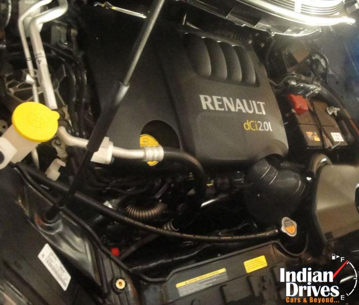 Renault Koleos engine