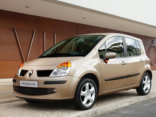 Renault Modus in India