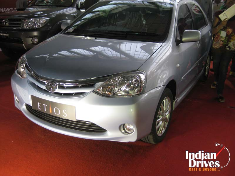 Toyota Etios diesel in India