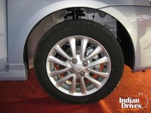 Toyota Etios diesel wheel