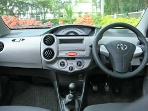 2011 Toyota Liva diesel interior