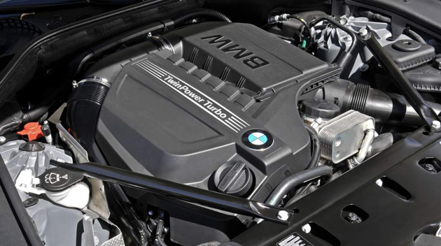 BMW 6 Series Coupe interior engine