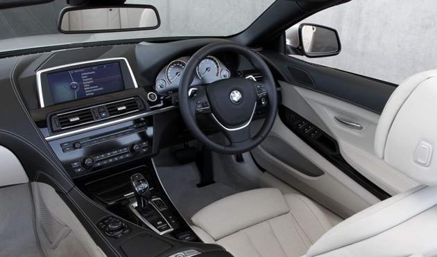 BMW 6 Series Coupe interior