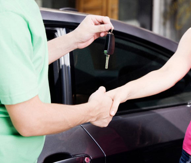 Buying a car at low finance rates