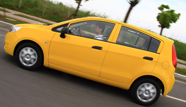 Chevrolet comes to India with the 'Sail' – its latest hatchback
