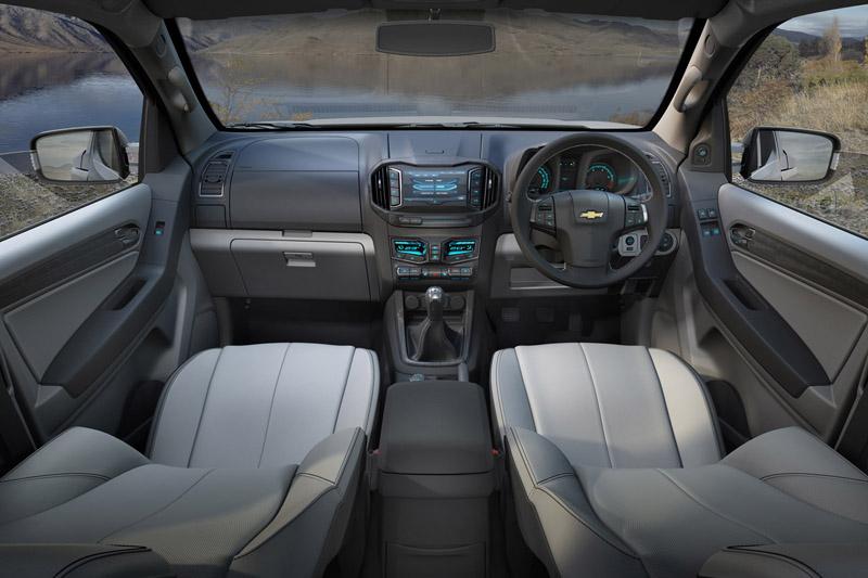 Chevrolet Colorado interior