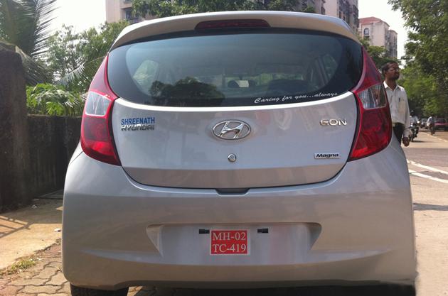 Hyundai Eon in  India