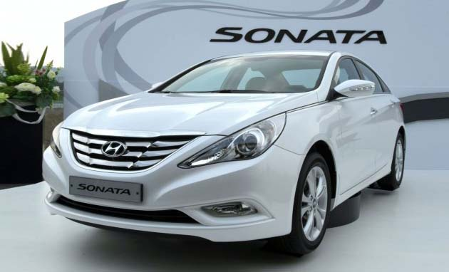Hyundai Sonata Facelift to Go On Sale In 2012