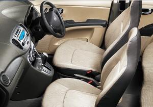 Hyundai i10 LPG interior