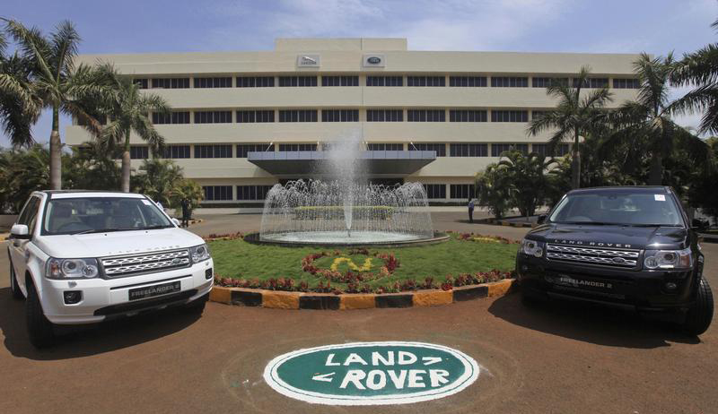 Jaguar Land Rover models in India