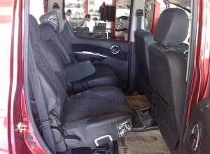 Mahindra Mini Xylo interior