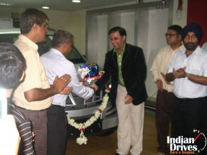 Mahindra XUV500 contest winner