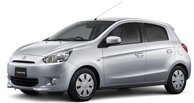 Mitsubishi Mirage Could Be Company's India Bound Small Hatchback