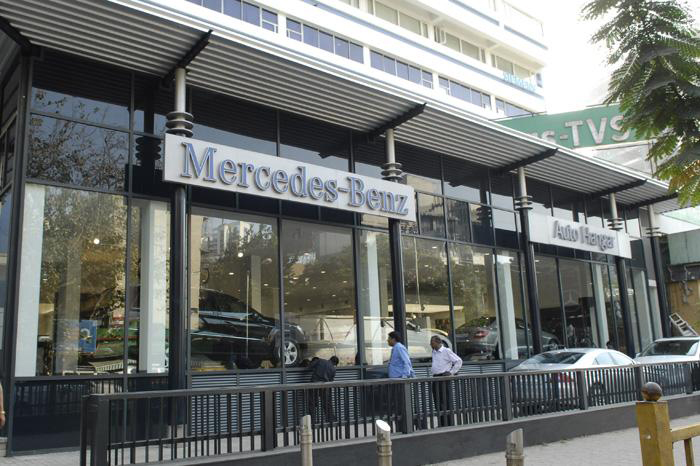 Mumbai's Biggest Mercedes Benz Showroom