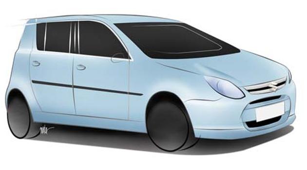 New Maruti 800 compact