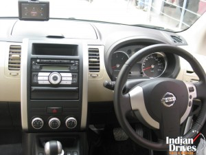 Nissan X -Trail interior