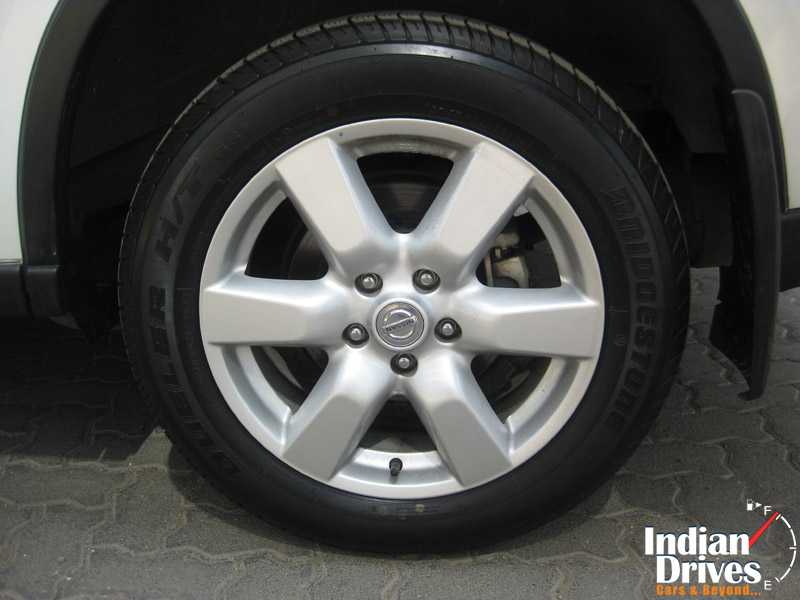 Nissan X-Trail wheel