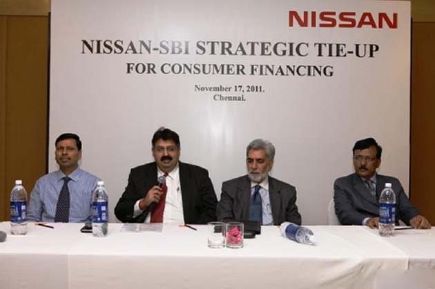 Nissan Counterfeits Strategic Tie-Up with State Bank of India for Finance Options