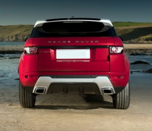 Range Rover Evoque in India