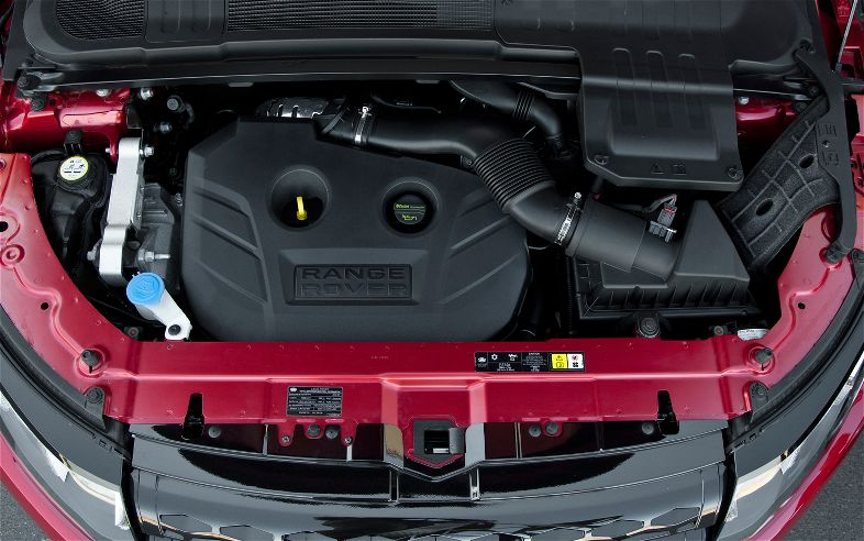 Range Rover Evoque engine