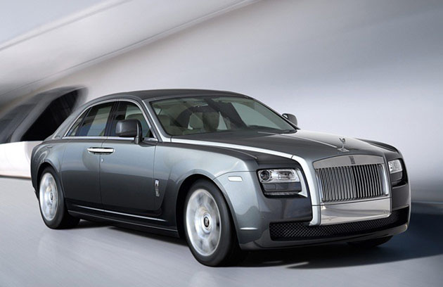 Rolls Royce Ghost extended wheelbase in India