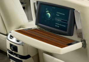 Rolls Royce Ghost extended wheelbase interior