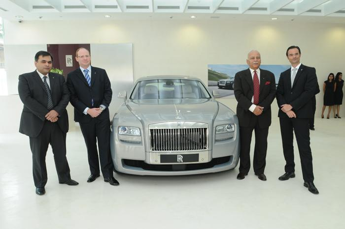 Rolls Royce opens new Dealership in Delhi