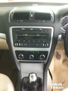 Skoda Laura audio system