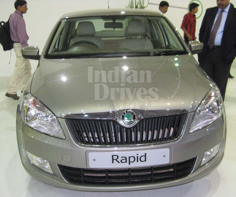 The Skoda Rapid has a length