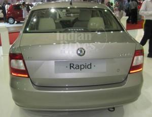 Skoda Rapid in India