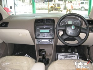 Skoda Rapid Sedan interior