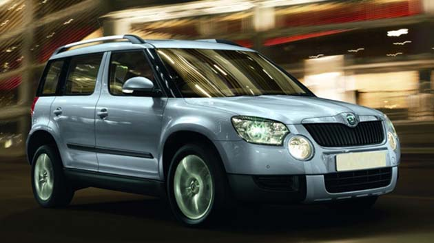 Skoda Introduces Yeti 4x2 at Rs 13.20 Lakhs