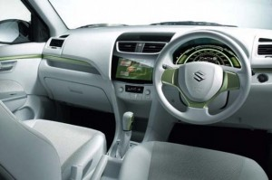 Suzuki Swift EV Hybrid interior