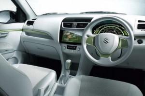 Suzuki Swift EV Hybrid interior