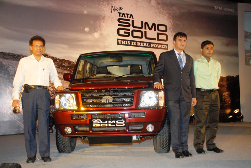 Tata Introduces Sumo Gold for Rs 5.04 lakhs