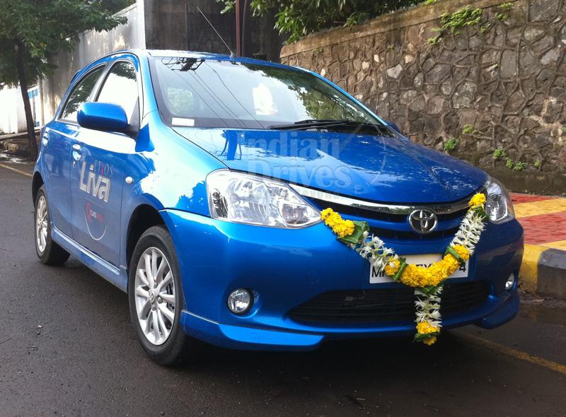 Toyota Etios Liva in India