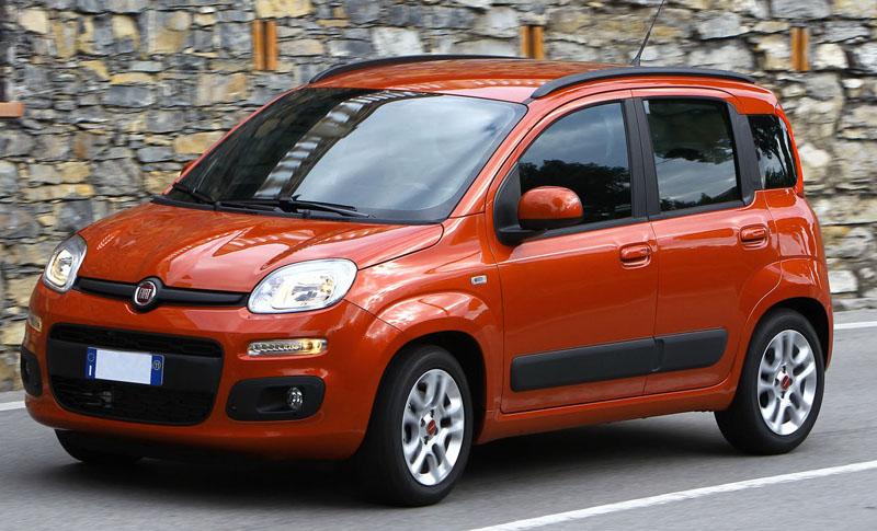 2012 Fiat Panda in India