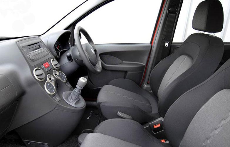 2012 Fiat Panda interior