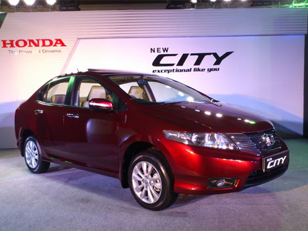 2012 Honda City launched in India