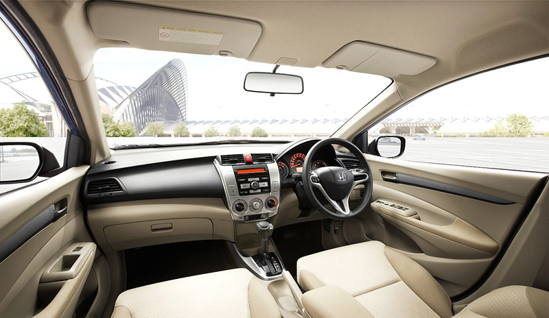 2012 Honda City interior