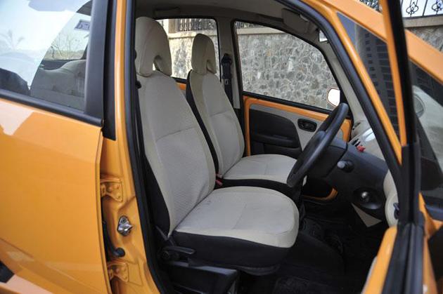 2012 Tata Nano interior
