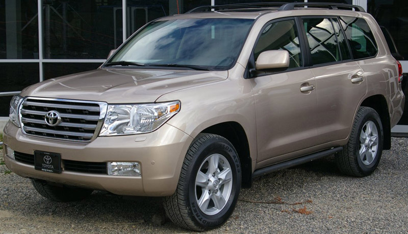 The Land Cruiser SUV to be further enhanced by Toyota