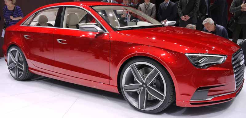 Audi A3 to be launched in India in 2012