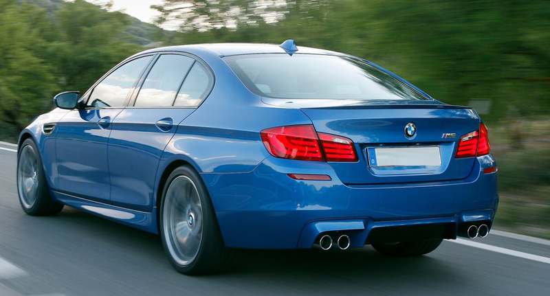 BMW to showcase its M5 sports sedan at 2012 Auto Expo