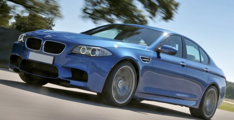 BMW to showcase its M5 sports sedan at 2012 Auto Expo
