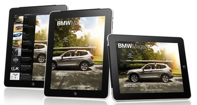 BMW makes its Magazine application available for the iPad