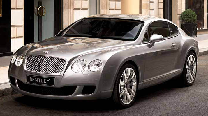 Bentley Continental GT will be showcased with its new V8 engine at the Detroit Auto Show