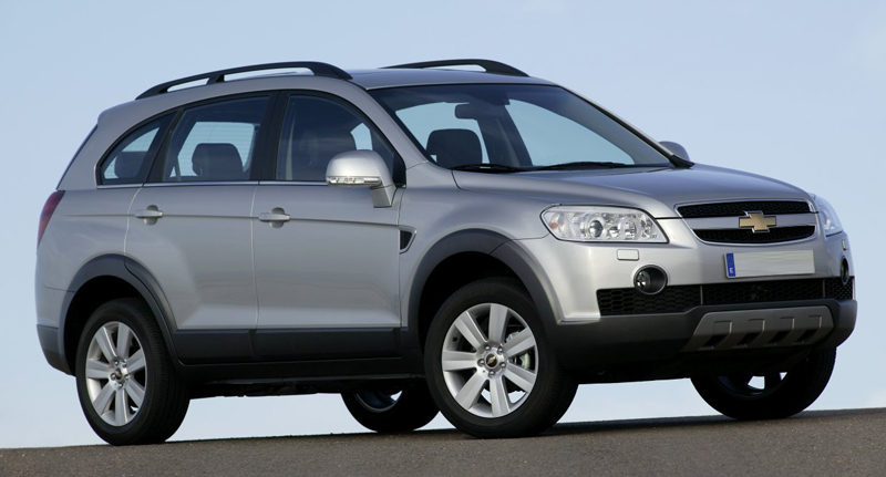 Chevrolet Captiva recalled for overheating of its steering fluid