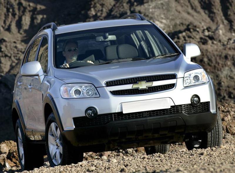 Chevrolet Captiva Vs Toyota Fortuner Vs Nissan X Trail Vs Honda
