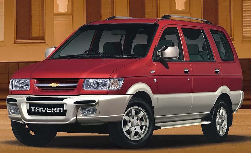 Chevrolet Tavera in India